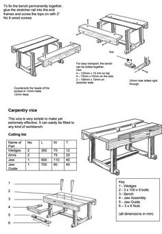 A Woodworking Bench – Fine WoodWorking