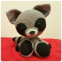 So, this is the pattern for my design The Silent Raccoon . The raccoon doesn't say much, but if you make it, and use a thin yarn an...