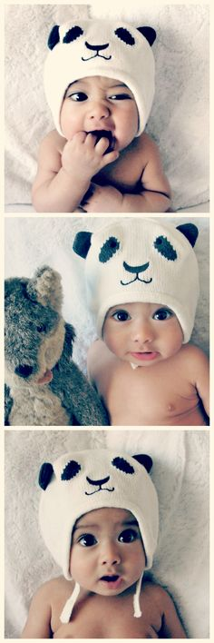 Wolfie. Half Asian baby. Half white, half Cambodian baby. 5 months old. #panda #asian #baby #halfasian #cambodian
