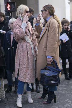 Stylish coats dominated fashion month!