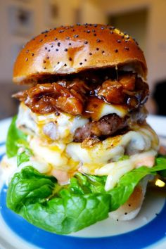 The Rib Tickler -- 21 Epic Burgers Guaranteed To Give You A Heart Attack : soFeminine uk