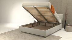 Un comodo spazio contenitore con finiture in rovere naturale