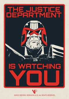 Judge Dredd screen prints by Tom Whalen & Matt Ferguson – Vice…