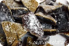 5 Orange Potatoes--herbal candy and/or homemade medicinal drops. Can vary the herbs for ailment.