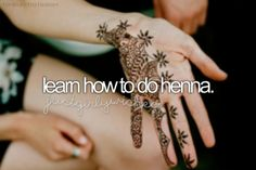 Learn How To Do Henna