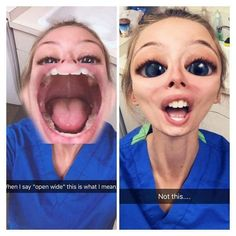 Dentaltown - Where The Dental Community Lives® Dental Assistant Humor, Dental Hygiene Student, Dentist Humor, Dental Hygienist, Dental Implants, Nurse Humor, Dental World, Dental Life, Dental Health