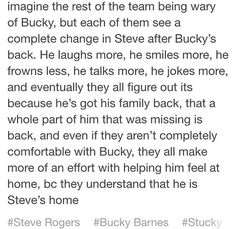 Aaaaaaaaaah!!!!!! The feels hit hard!!!!!!😭 Who is hugging Bucky and Steve?!?! These lost puppies need hugs!!!✋