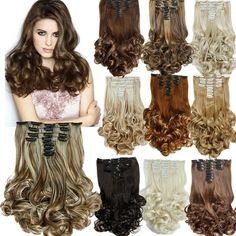 """>>>Coupon CodeNew 20""""Hair Extension 16Colors Clip in Hair Extensions 8pcs/set Long Hairpiece Curly Wavy Heat Resistant Synthetic Natural HairNew 20""""Hair Extension 16Colors Clip in Hair Extensions 8pcs/set Long Hairpiece Curly Wavy Heat Resistant Synthetic Natural Hairreviews and best price...Cleck Hot Deals >>> http://id976014538.cloudns.hopto.me/32682104281.html.html images"""