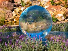 Sphere Fountains & Water Features For Your Garden   Allison Armour