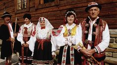 Slovakia - People in Native Costume
