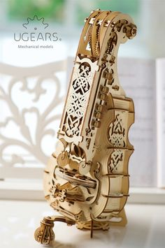 Engineered for self-assembly and play. Just build with your own hands and feel like Stradivari or a popular Hurdy-Gurdy star.