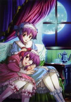 Tags: Anime, Ef - A Fairy Tale Of The Two, Shindou Chihiro, Shindou Kei, Minori