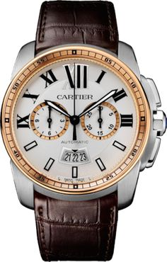 Buy Cartier Calibre de Cartier Chronograph Stainless Steel Watches, authentic at discount prices. Complete selection of Luxury Brands. All current Cartier styles available. Big Watches, Sport Watches, Luxury Watches, Cool Watches, Watches For Men, Dress Watches, Cartier Calibre, Cartier Men, Cartier Watches