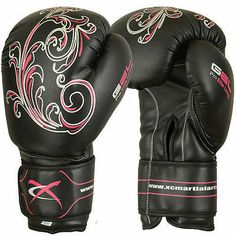Kickboxing gloves - love the design on them!