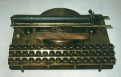 The Automatic Typewriter, a rare and desirable Typewriter.  It is considered  the first portable with a standard keyboard.