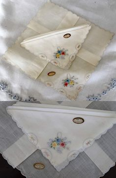 Photos are copyrighted and may not be used without my permission!      I have written 2 previous blogs on hankies. I need to cover a few mo...