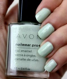 Avon Nailwear Pro Honeydew Dazzle  You can find more Avon products if you log onto my website - www.youravon.com/sdujanovic