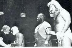 Mr. Wrestling II, Leroy Brown, and Michael Hayes