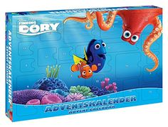 Craze 53974 - Adventskalender Disney Pixar Finding Dory, sortiert, bunt