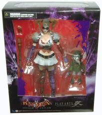 Batman Arkham Asylum Play Arts Kai Harley Quinn Action Figure *FREE SHIPPING*