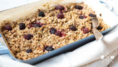 Baked Oatmeal – gebackener Haferbrei