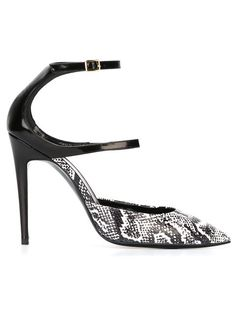 44d6890cb452e3 Shop Pierre Hardy python effect pumps in Dell oglio from the world s best  independent boutiques