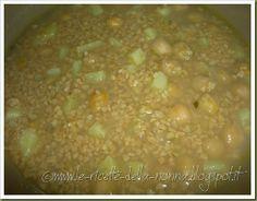 Le Ricette della Nonna: Minestra con soia gialla, ceci e patate