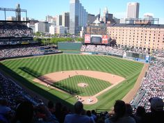 """Baltimore Orioles - Oriole Park at Camden Yards, Baltimore, MD - Started the """"rebirth of vintage"""" in ballpark design. Some of the copycats have been superb, but this one still withstands the test of time. Great downtown location and atmosphere. Too bad the team has been terrible for so long."""