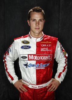 2011 Daytona 500 champion Trevor Bayne.