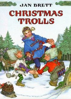 Christmas Trolls  (Book) : Brett, Jan : When Treva investigates the disappearance of her family's Christmas things, she finds two mischievous trolls who have never had a Christmas of their own.