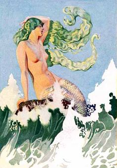"""The Siren Call"" by Coles Phillips; 1929"