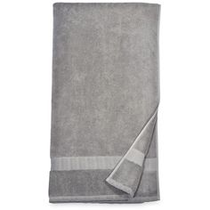 Dkny Mercer Bath Sheet (705 MXN) ❤ liked on Polyvore featuring home, bed & bath, bath, bath towels, grey, dkny bath towels, grey bath towels, turkish cotton bath sheets, dkny and gray bath towels