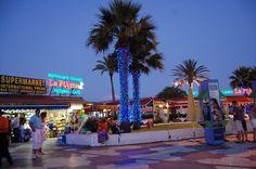 Playa del Ingeles bei Nacht