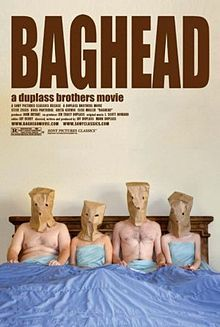 Official theatrical movie poster for Baghead Starring Ross Partridge, Steve Zissis, Greta Gerwig, Elise Muller Home Disney Movie, Disney Movie Posters, Disney Movies, Film Posters, Netflix Movies, Top Movies, Movies And Tv Shows, Writing A Movie Script, Relationships