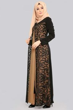 Tuk dibeli Abaya Fashion, Muslim Fashion, Kimono Fashion, Fashion Dresses, Hijab Dress Party, Hijab Style Dress, Muslim Long Dress, Dress Brokat, Dress Patterns