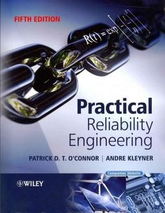 "Read ""Practical Reliability Engineering"" by Andre Kleyner available from Rakuten Kobo. With emphasis on practical aspects of engineering, this bestseller has gained worldwide recognition through progressive . Reliability Engineering, Mechanical Engineering, Book Annotation, My Essentials, Book Signing, Reading Online, Textbook, Audio Books, Personalized Items"