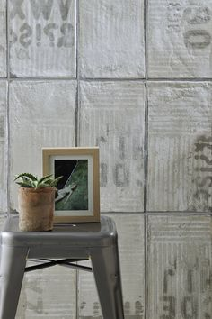 [ Younhyun Tile / 윤현상재 타일 ] Vintage Tile : Urban Avenue Off White / Size (cm) : 20.4x40.8