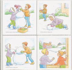 secuencias temporales - ayl-psicopeda - Álbumes web de Picasa Games 4 Kids, Craft Activities For Kids, Educational Activities, Classroom Activities, Sequencing Pictures, Sequencing Cards, Kids Education, Special Education, Polo Norte