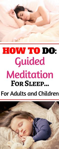 This activity is good for adults and children who have difficulty falling asleep, specifically restlessness and insomnia. This activity encompasses yoga and meditation techniques to help calm the mind Insomnia In Children, Insomnia Help, Insomnia Causes, Insomnia Remedies, Guided Meditation For Sleep, Daily Meditation, Mindfulness Meditation, Meditation Kids, Guided Relaxation