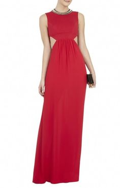 73c69612d44 There is 1 tip to buy bcbgmaxazria angelinah contrast cutout gown.