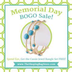 www.TheShoppingBagStore.com  #MemorialDay