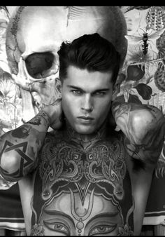 Stephen james for elle magazine stephen james стивен джеймс, Stephen James Model, James D'arcy, Sexy Tattooed Men, Tattooed Models, Boy Tattoos, Tattoo Guys, Sailor Tattoos, Bodysuit Tattoos, Dragon Tattoos