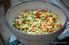 Mi Chiamo Candace...: Charred Corn Salad
