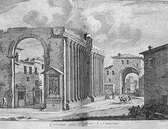 Le colonne di San Lorenzo e la Porta Ticinese Medioevale