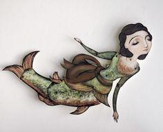 mermaid paper doll