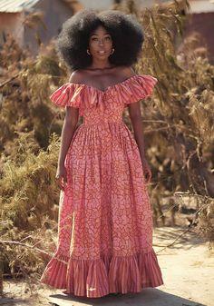 Emerald Dresses, Blush Dresses, Spring Dresses, Pretty Dresses, African Print Fashion, African Fashion Dresses, African Attire, African Dress, Deep V Dress