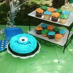 Little monster themed birthday