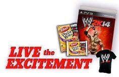 WWE Sweepstakes 3/31/14