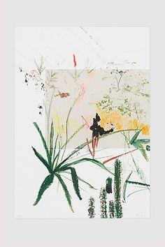 Alicia Galer Cacti Bloom Print - anthropologie.eu