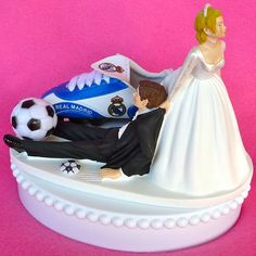 Wedding Cake Topper Real Madrid CF Club de Futbol Soccer